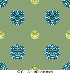 verde, amarelo azul, abstratos, fundo