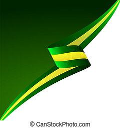 verde, amarillo