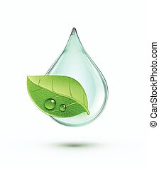 verde, ambiente, concepto