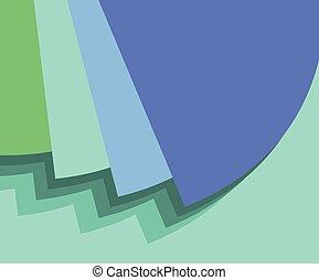 verde azul, fundo