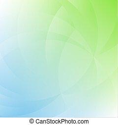verde azul, fundo, natureza