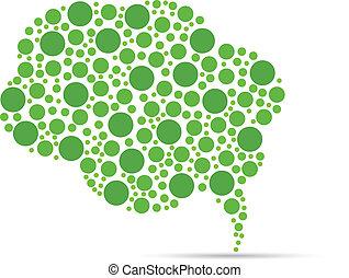 verde, bolla discorso