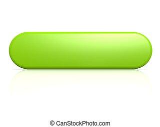 verde, botão