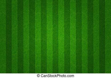 verde, calcio, erba, fondo, campo