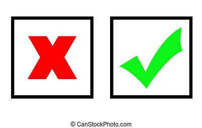 verde, carrapato, e, cruz vermelha