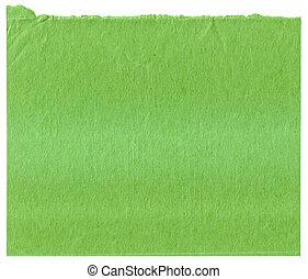 verde, carta, struttura