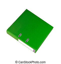 verde, cartella
