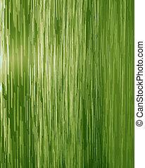verde, cascada