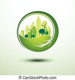 verde, città