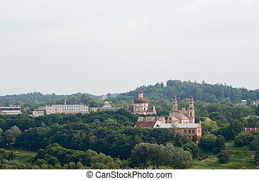 verde, colline,  Vilnius