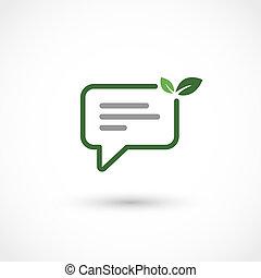 verde, conversa