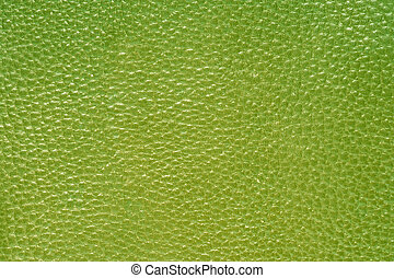 verde, couro
