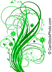 verde, desenho