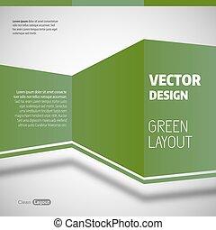 verde, disposizione