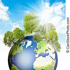 verde, earth.