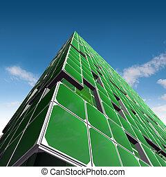 verde, ecologia, architettura