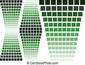 verde, elementi, disegno