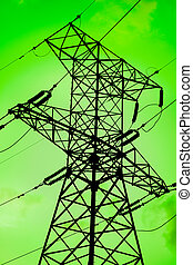 verde, energia, é, limpo, meio ambiente