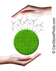 verde, energia, conceitos