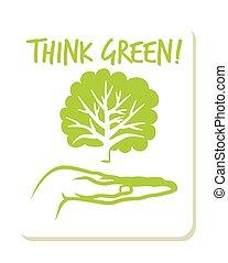 verde, etichetta