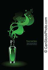 verde, fairy., absinthe
