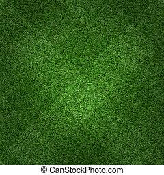 verde, futebol, capim, fundo, campo