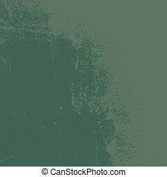 verde, grunge, textura