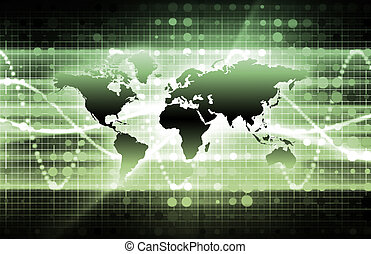 verde, informática