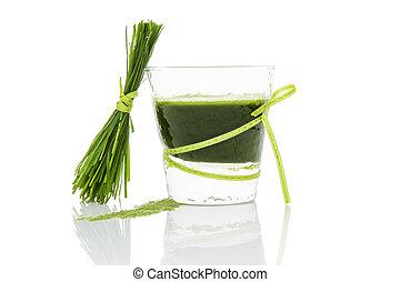 verde, juice.