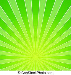 verde ligero, plano de fondo, rayo