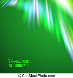 verde, lights., settentrionale