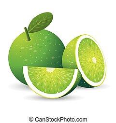 verde, limone