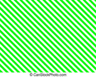verde, listra diagonal
