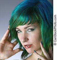 verde, moda