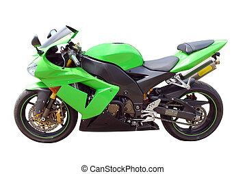 verde, moto