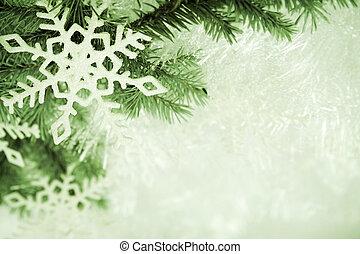verde, navidad, plano de fondo