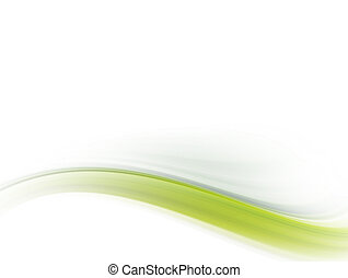 verde, onda