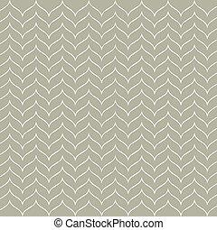 verde, onda, stylized, pattern.