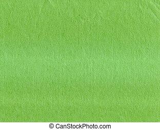 verde, papel, viejo, textura