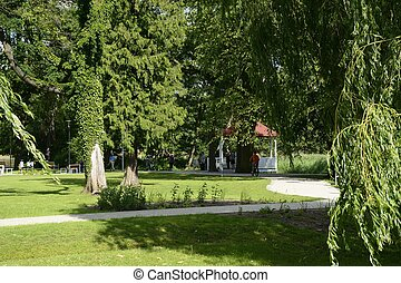 verde, parchi, in, polonia
