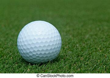 verde, pelota golf