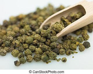 verde, peper