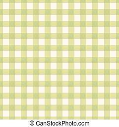 verde, plaid, pattern., seamless