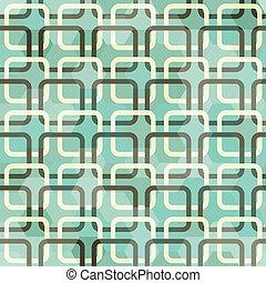 verde, quadrato, seamless