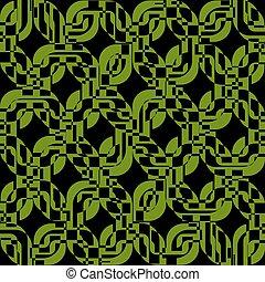 verde, retângulos, textura, seamless, padrão, fundo
