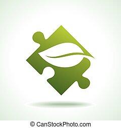 verde, salute, environ, risparmiare, cura, icona