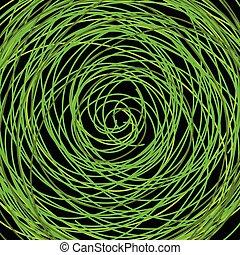 verde, scarabocchio, fondo