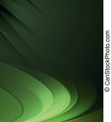 verde scuro, astratto, linee, backgroun