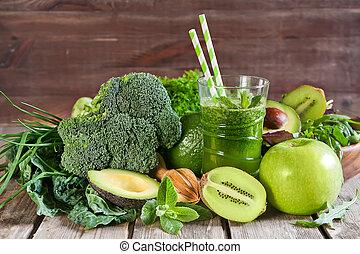 verde, smoothie