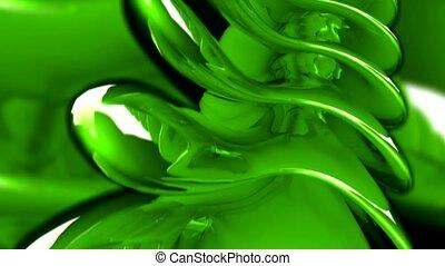verde, spina
